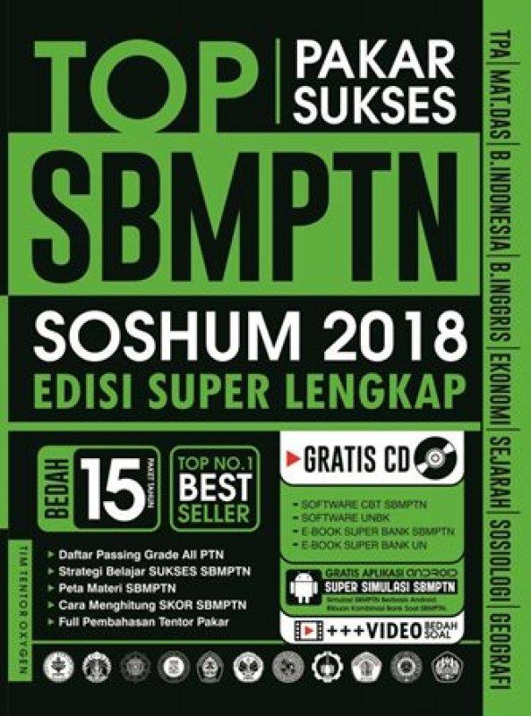 Cover Buku PAKAR SUKSES TOP SBMPTN SOSHUM 2018