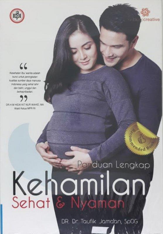 Cover Buku Panduan Lengkap Kehamilan Sehat dan Nyaman