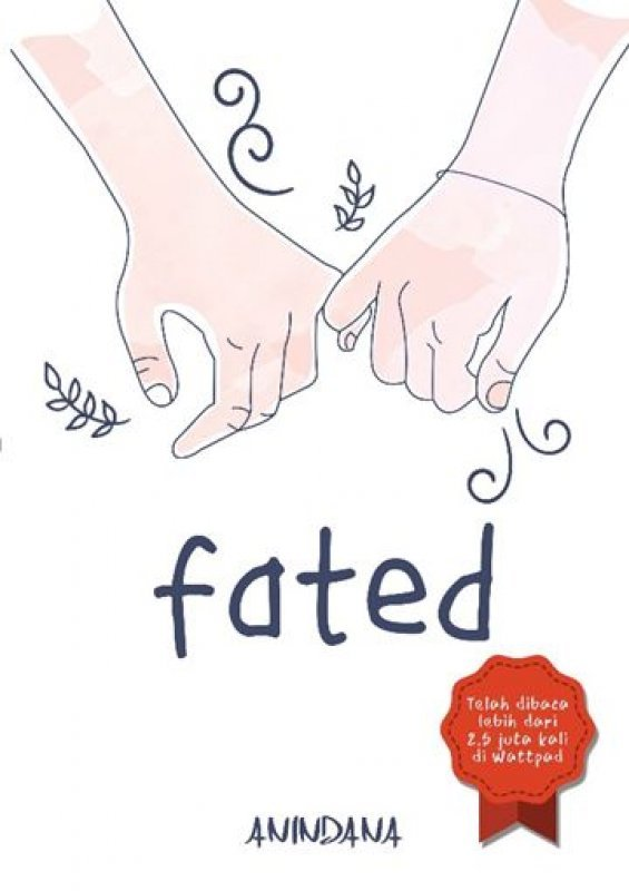 Cover Buku Fated