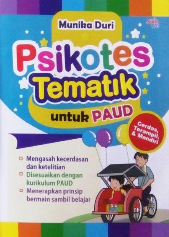 Cover Buku PSIKOTES TEMATIK UNTUK PAUD