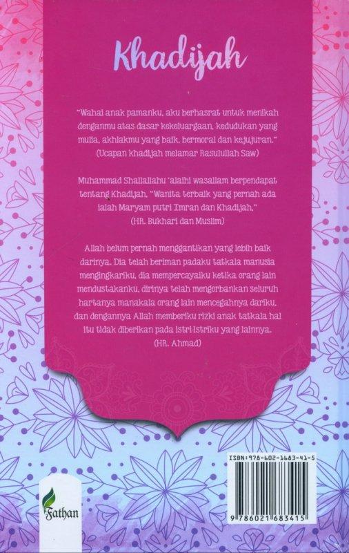 Cover Belakang Buku Khadijah In Love Life is Full of Drama (hard cover)
