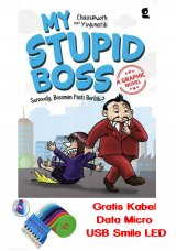 MY STUPID BOSS A GRAPHIC NOVEL (Bonus: Kabel Data Micro USB Smile LED) (Promo Best Book) (Disc 50%)