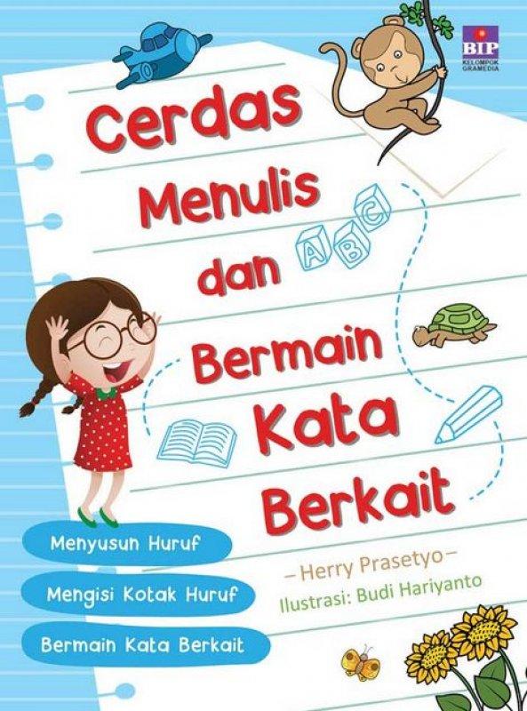 Cover Buku Cerdas Menulis dan Bermian Kata Berkait