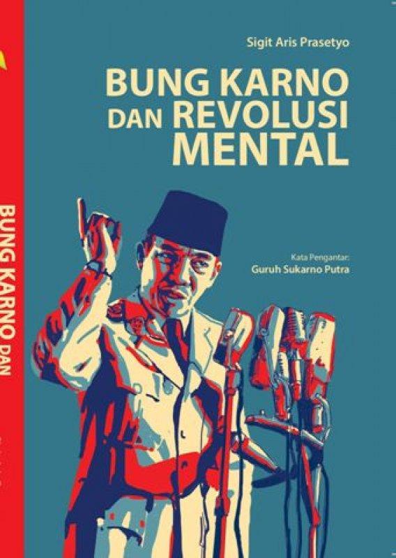 Cover Buku Bung Karno dan Revolusi Mental