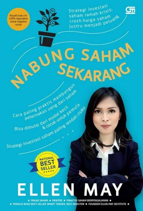 Cover Buku Nabung Saham Sekarang