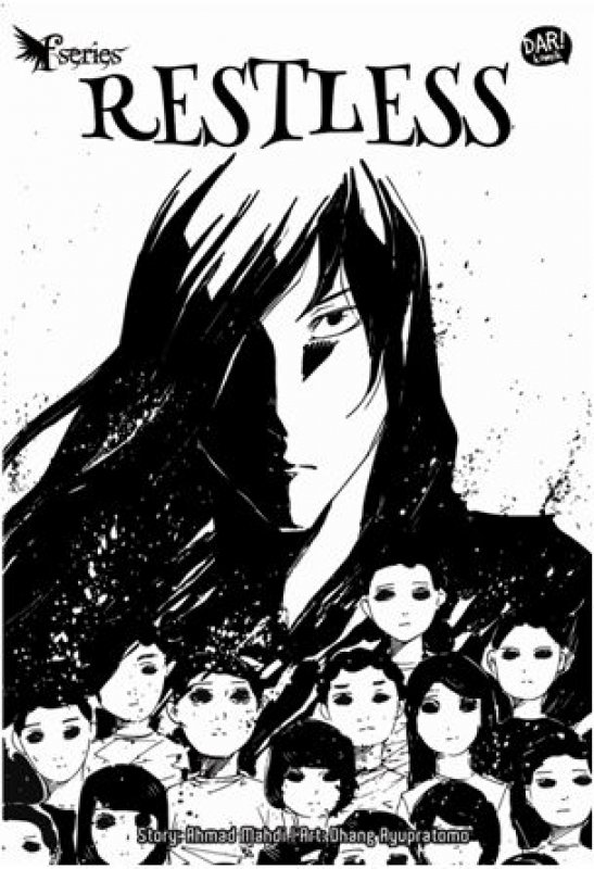 Cover Depan Buku FANTASTEEN SERIES - RESTLESS (Komik)