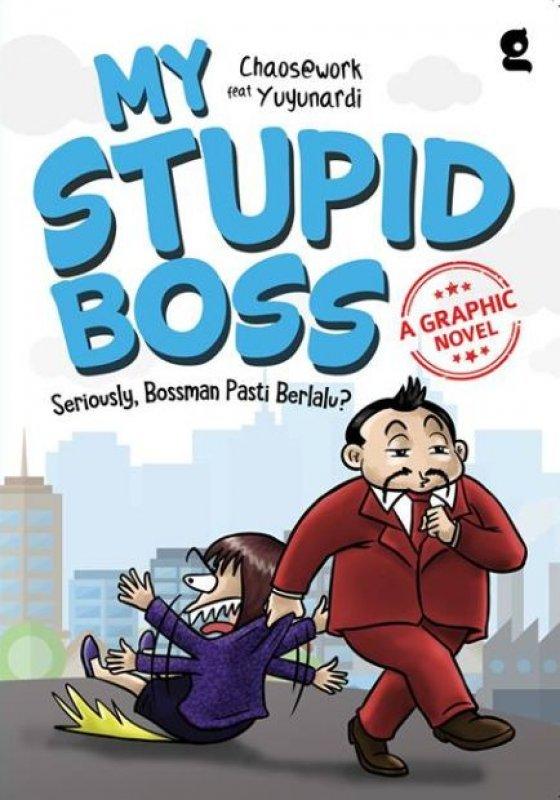 Cover Buku MY STUPID BOSS A GRAPHIC NOVEL (Promo Best Book)