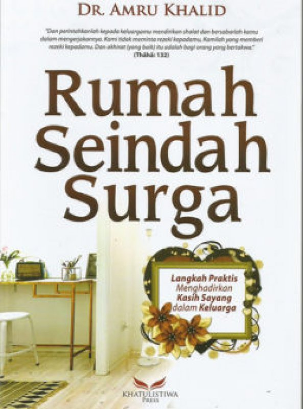Cover Buku Rumah Seindah Surga