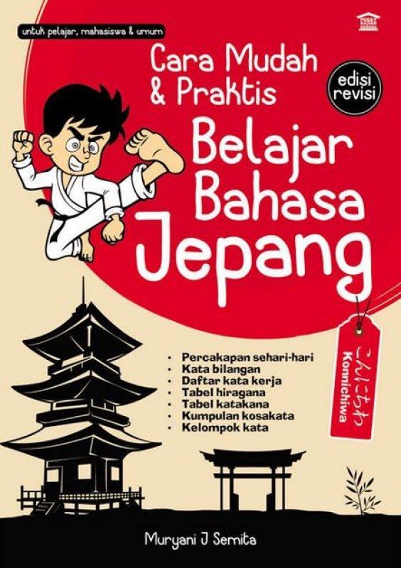 Cover Buku Cara Mudah & Praktis Belajar Bahasa Jepang edisi revisi