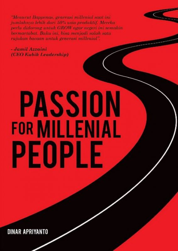 Cover Buku Passion for Millenial People