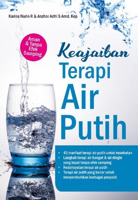 Cover Buku Keajaiban Terapi Air Putih