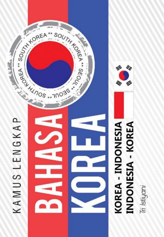 Cover Buku Kamus Lengkap Bahasa Korea