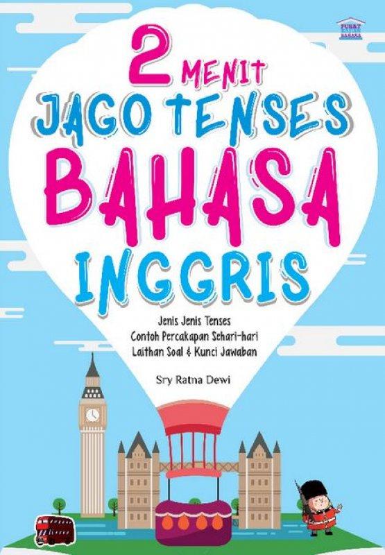 Cover Buku 2 Menit Jago Tenses Bahasa Inggris