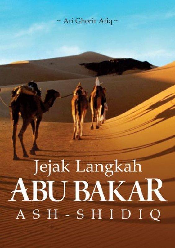 Cover Buku Jejak Langkah Abu Bakar Ash-Shidiq