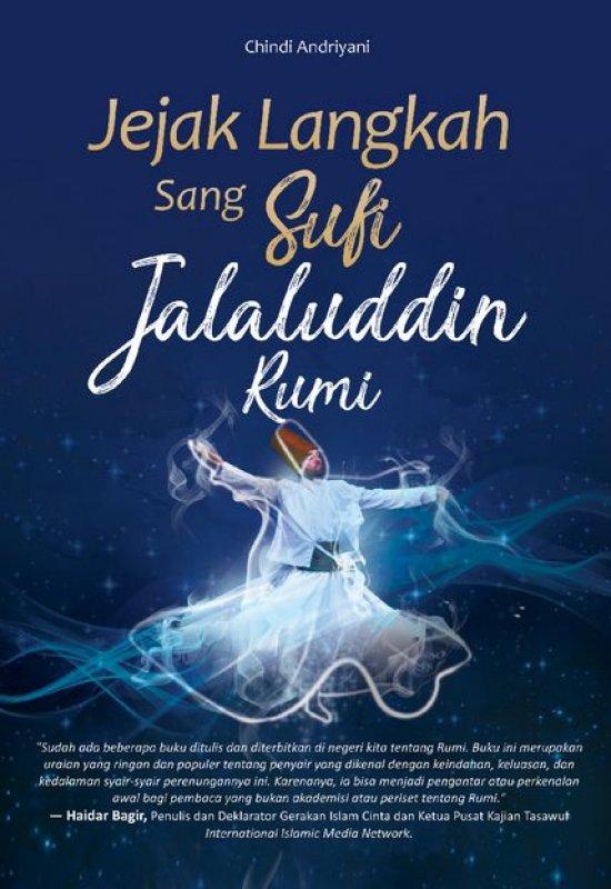 Cover Buku Jejak Langkah Sang Sufi Jalaluddin Rumi