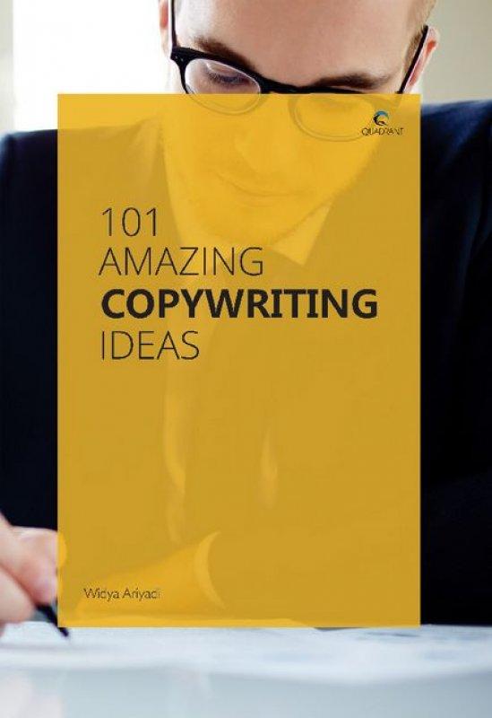 Cover Buku 101 Amazing Copywriting Ideas