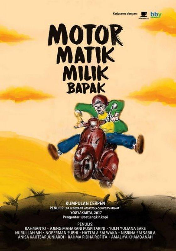 Cover Buku Motor Matik Milik Bapak