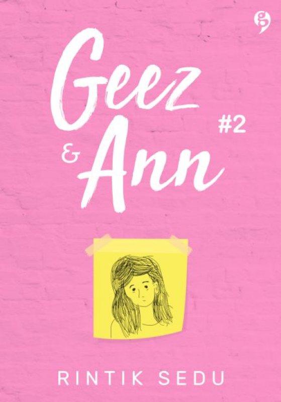 Cover Buku Geez & Ann #2 [Edisi TTD + CD (isi hati Ann)]
