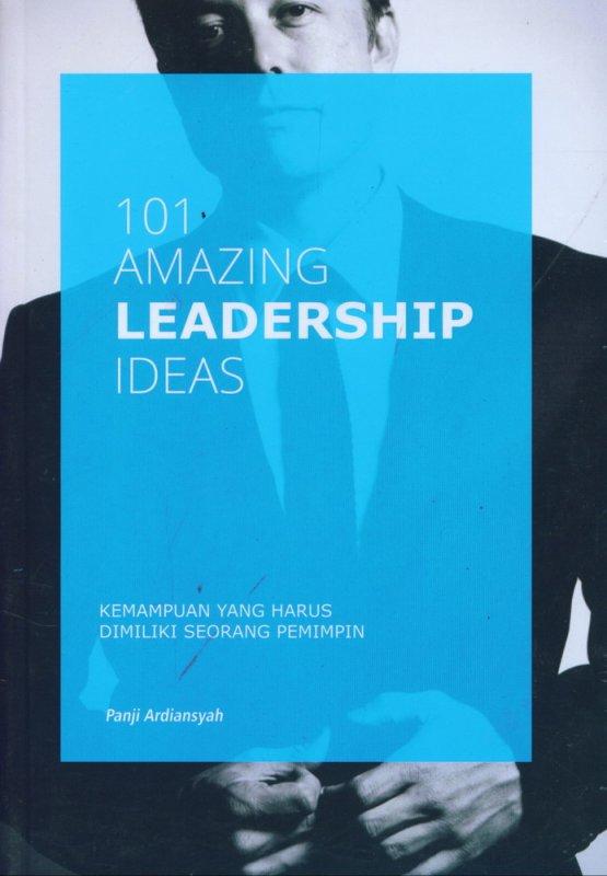 Cover Buku 101 Amazing Leadership Ideas