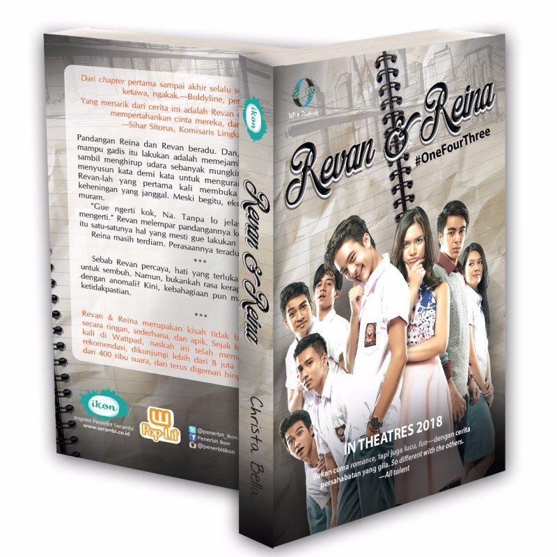 Cover Buku Revan & Reina (Cover Film)