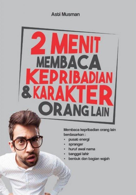 Cover Buku 2 Menit Membaca Kepribadian Dan Karakter Orang Lain