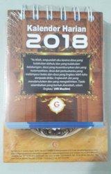 Kalender Harian Muslim 2018 (cover warna coklat)