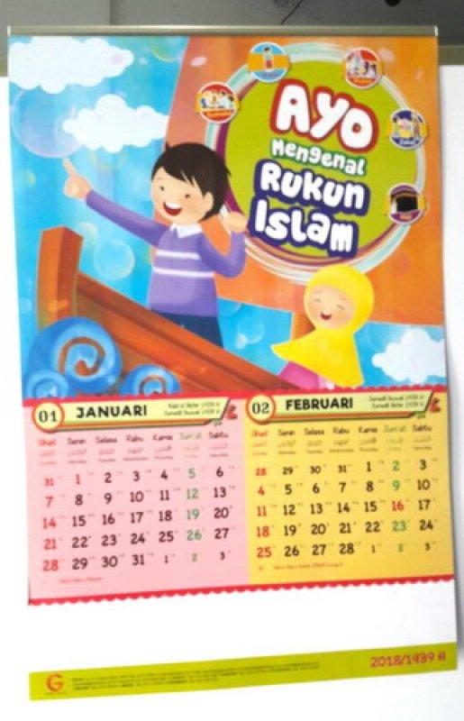 Cover Buku Kalender Anak 2018