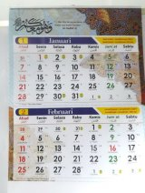 Kalender Regional 2018