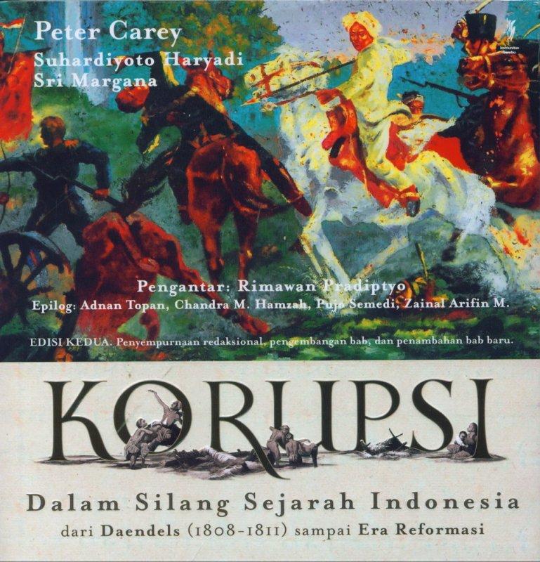 Cover Buku Korupsi Dalam Silang Sejarah Indonesia