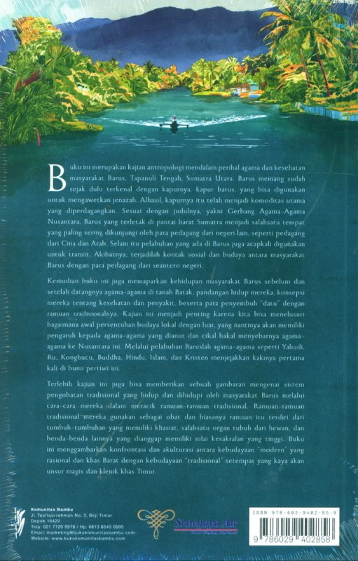 Cover Belakang Buku Gerbang Agama-Agama Nusantara