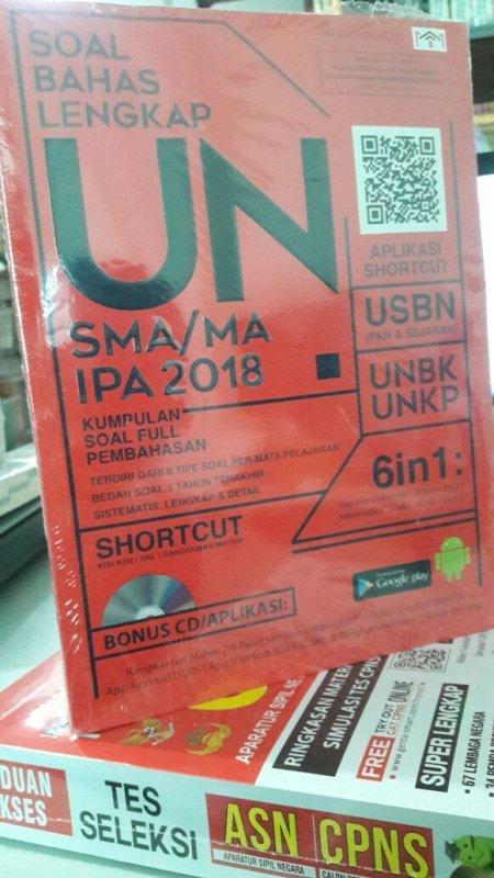 Cover Buku SOAL BAHAS LENGKAP UN SMA/MA IPA 2018