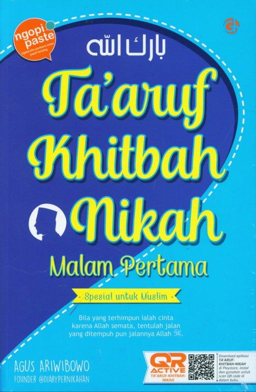 Cover Buku Ta aruf Khitbah Nikah Malam Pertama - Spesial untuk Muslim