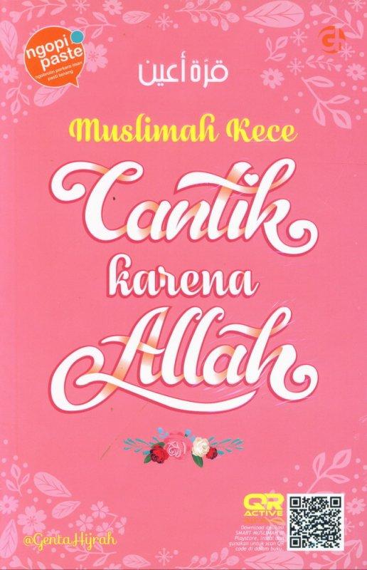 Cover Buku Muslimah Kece Cantik Karena Allah