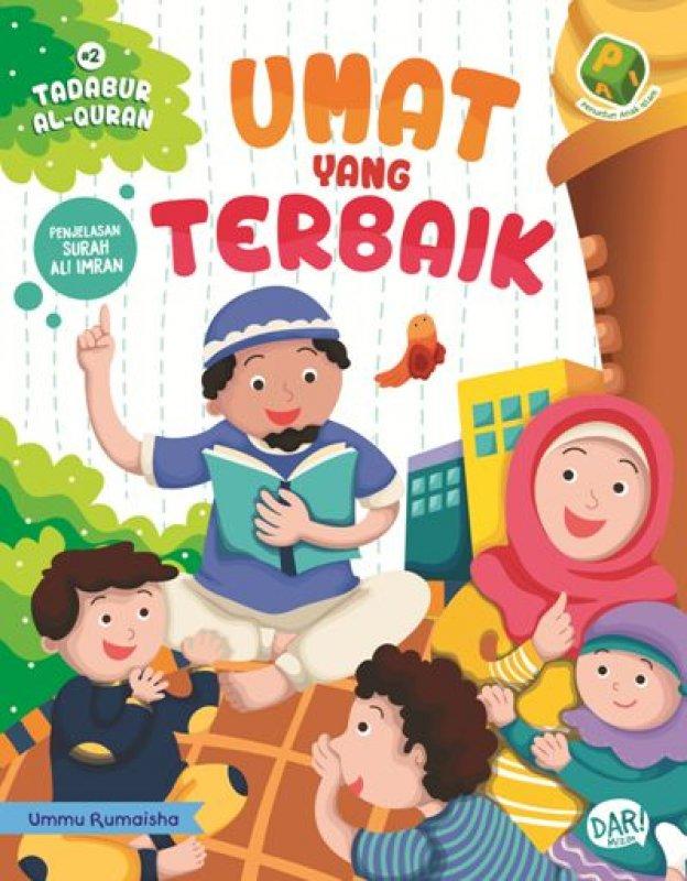 Cover Buku PAI Tadabur Al-Quran #2 Ali Imran: Umat yang Terbaik
