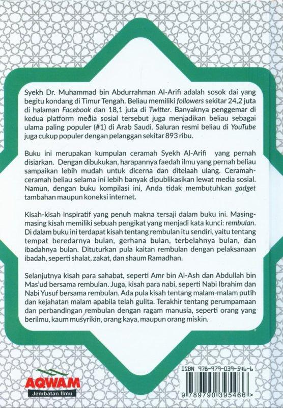 Cover Belakang Buku Kisah-Kisah Inspiratif Syekh Al-Arifi