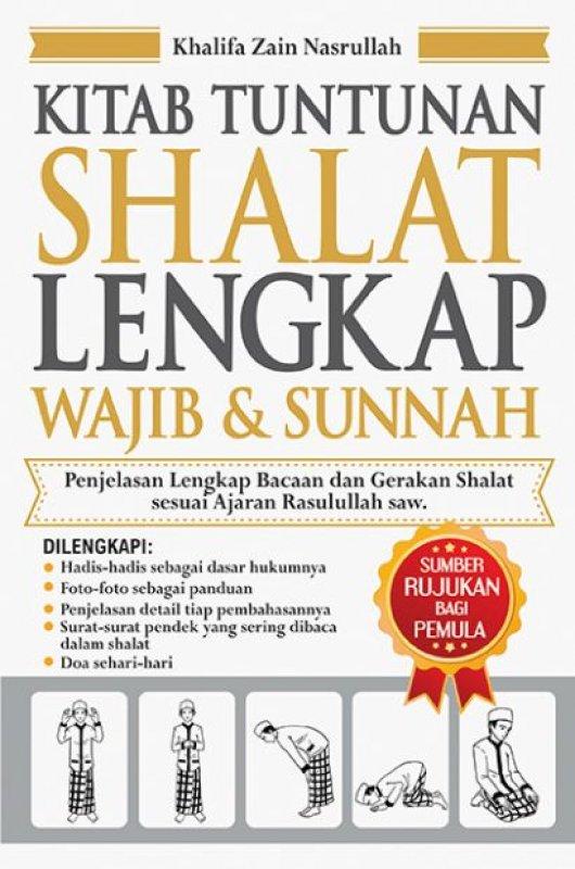 Cover Buku Kitab Tuntunan Shalat Lengkap Wajib & Sunnah