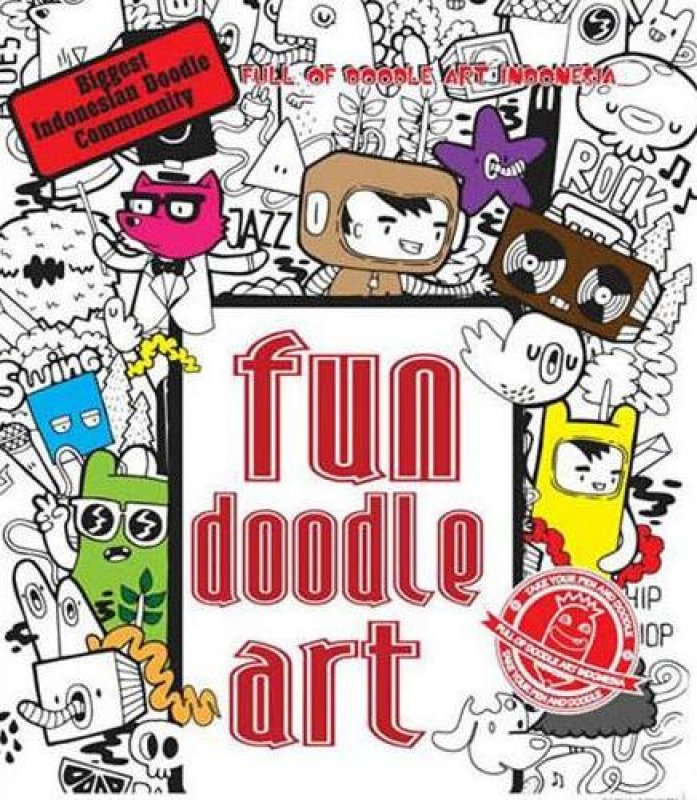 Cover Buku Fun Doodle Art (dist)