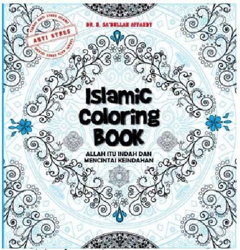 Cover Buku Islamic Coloring Book (dist)