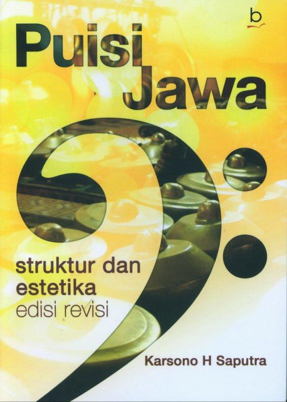 Cover Buku Puisi Jawa Struktur dan Estetika Edisi Revisi