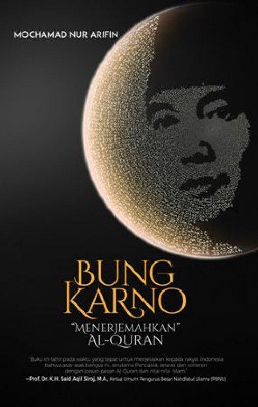 Cover Buku Bung Karno Menerjemahkan Alquran