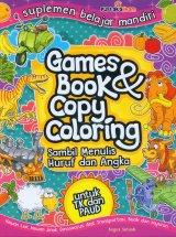 Games Book & Copy Coloring Sambil Menulis Huruf dan Angka