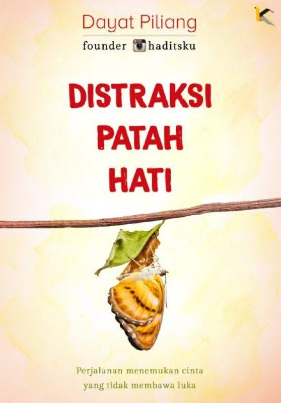Cover Buku Distraksi Patah Hati