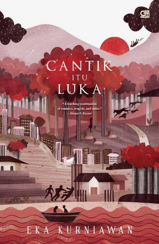 Cover Buku Cantik Itu Luka (Hard Cover - Limited Edition)