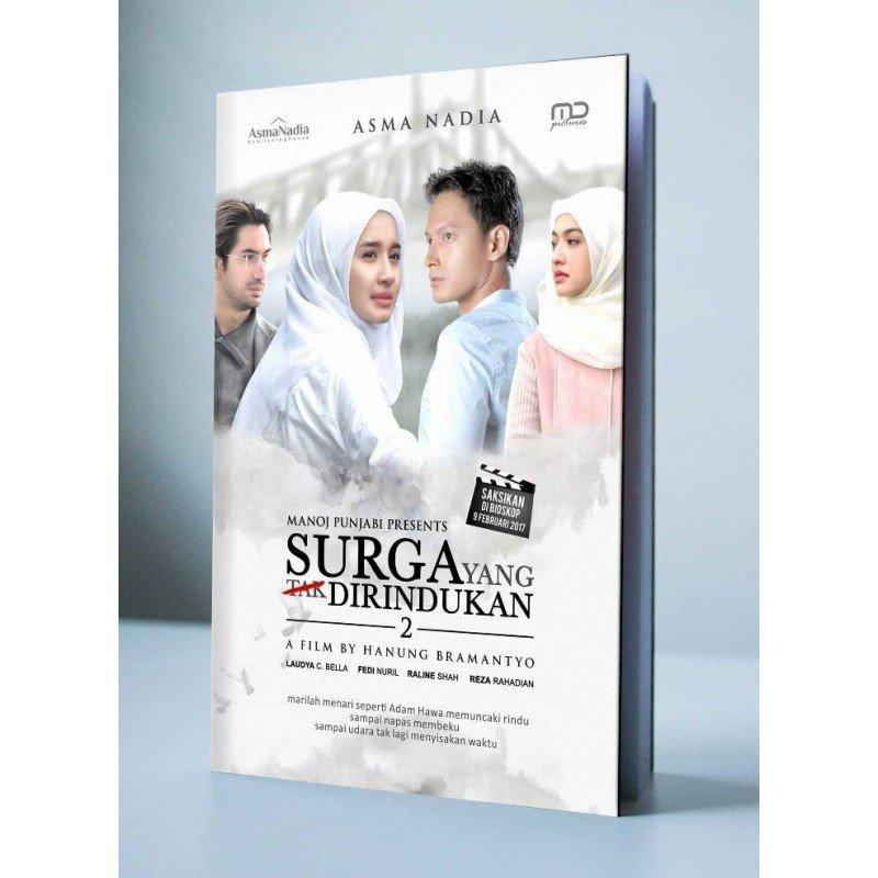 Cover Buku Surga Yang Tak Dirindukan 2 Cover Film