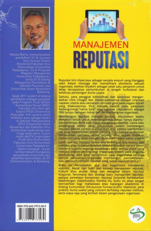 Cover Belakang Buku Manajemen Reputasi