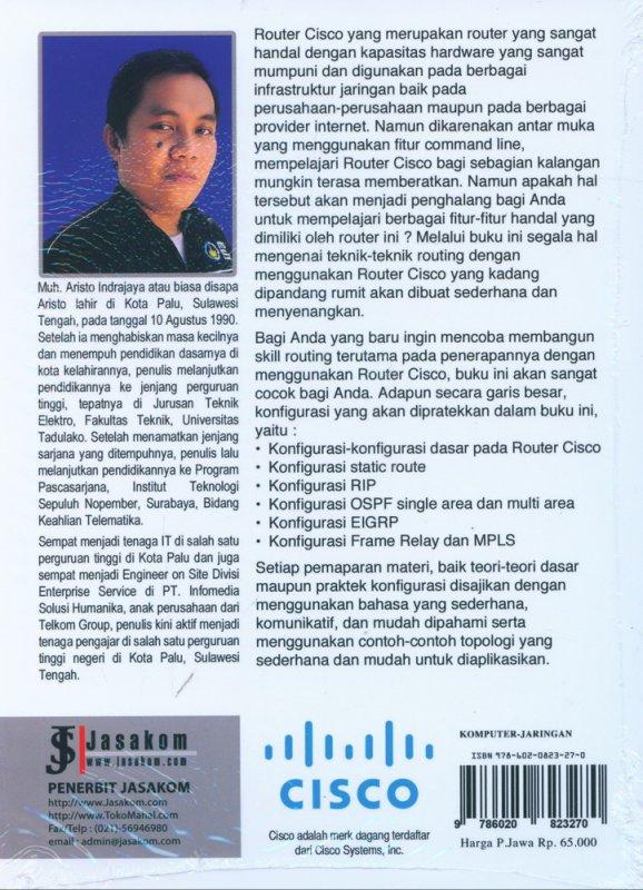 Cover Belakang Buku CISCO Kung Fu: Jurus-Jurus Routing