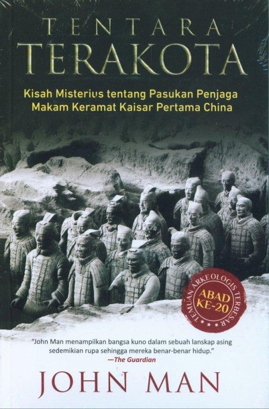 Cover Buku Tentara Terakota