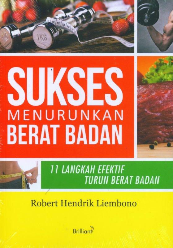 Cover Buku Sukses Menurunkan Berat Badan: 11 Langkah Efektif Turun Berat Badan