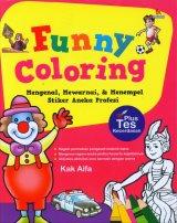 Funny Coloring (Mengenal, Mewarnai, & Menempel Stiker Aneka Profesi)
