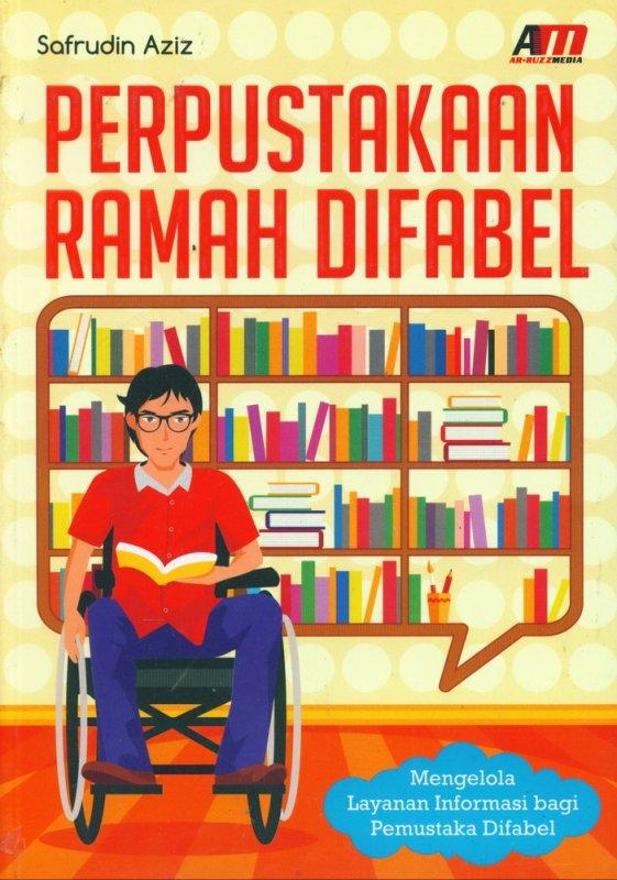Cover Buku Perpustakaan Ramah Difabel